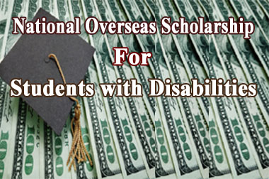 National Overseas Scholarship for Students with Disabilities