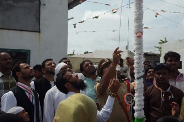 Flag Hosting Roushan Basti Project