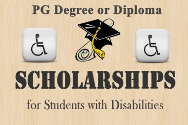Scholarship For Top Class Education For Students with Disabilities