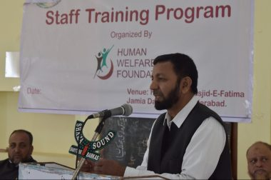 Staff training program for Khidmat Seva MACCS