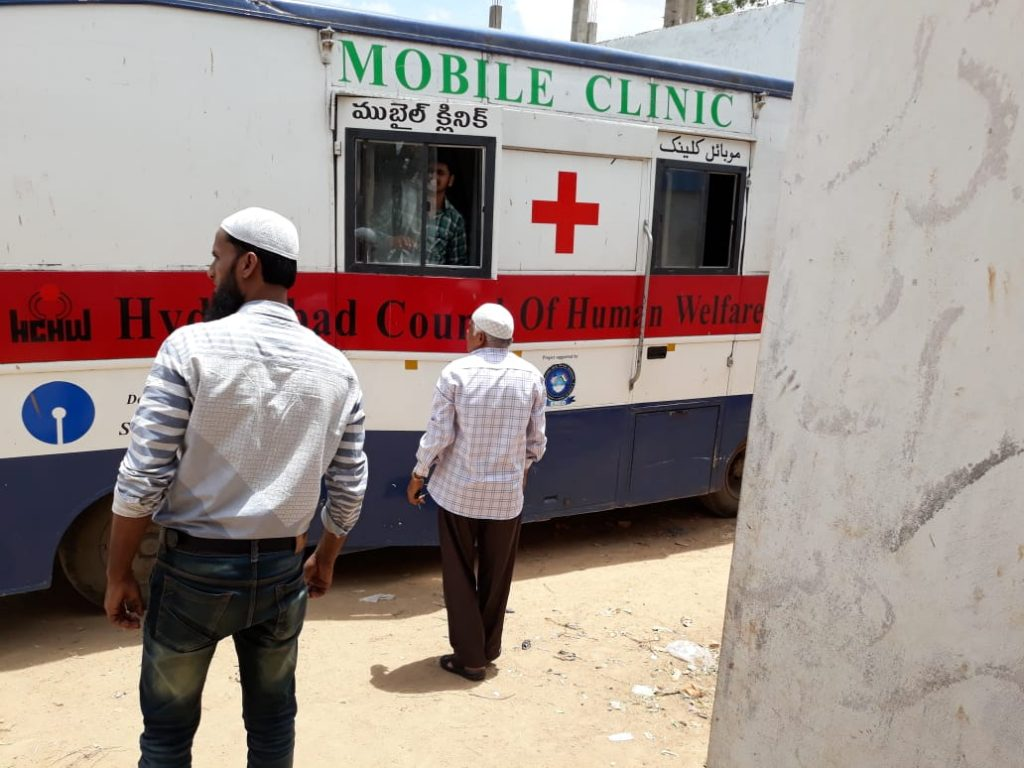 Mobile Clinic at Decent Shelter (Home for the Homeless